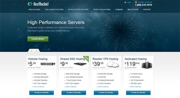 visual-of-the-hostrocket-website-homepage